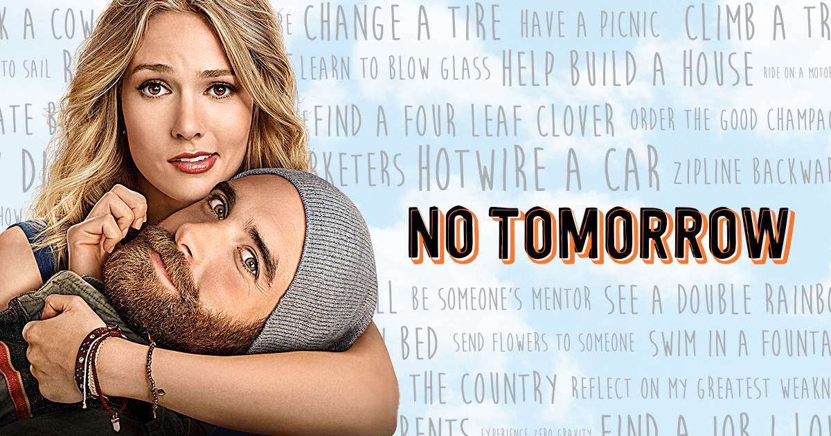 Image result for no tomorrow