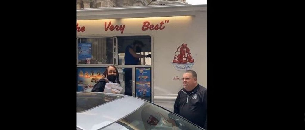 Philadelphia Police Union Offers Mr. Softee's Ice Cream Outside 'Soft On Crime' District Attorney's Office