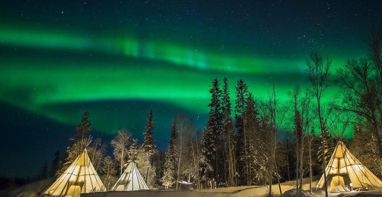 Yellowknife Canada Northern Lights