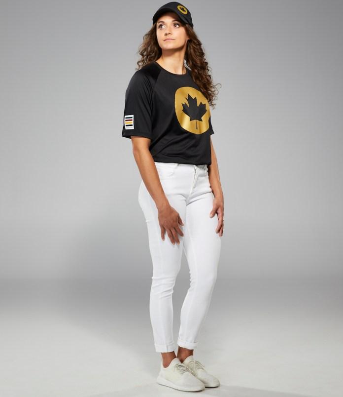 canada olympic uniform