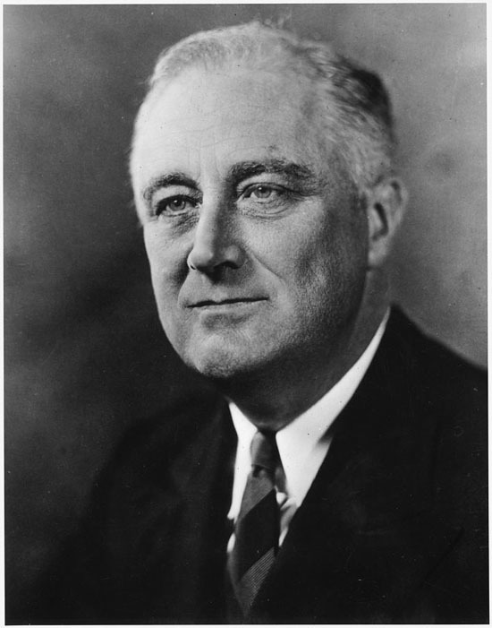 """""""Franklin D. Roosevelt - NARA - 535943"""" by Unknown or not provided - U.S. National Archives and Records Administration. Licensed under Public Domain via Commons - https://commons.wikimedia.org/wiki/File:Franklin_D._Roosevelt_-_NARA_-_535943.jpg#/media/Fil"""