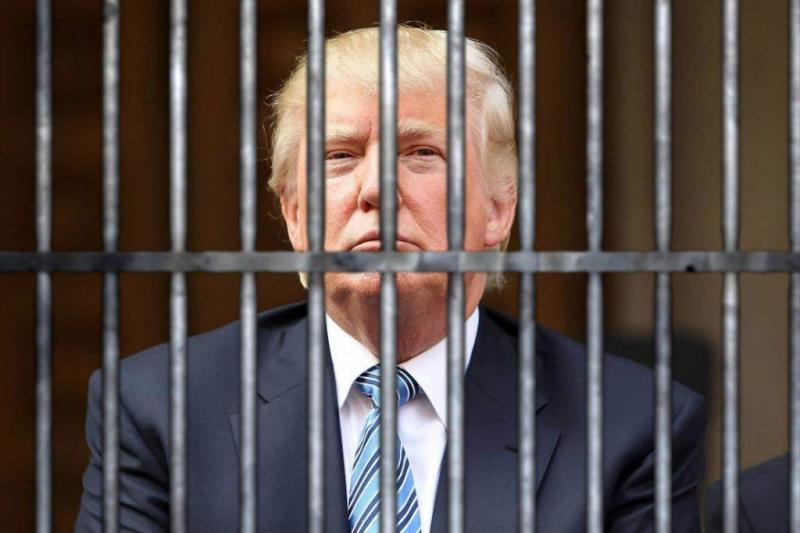 Image result for trump in prison