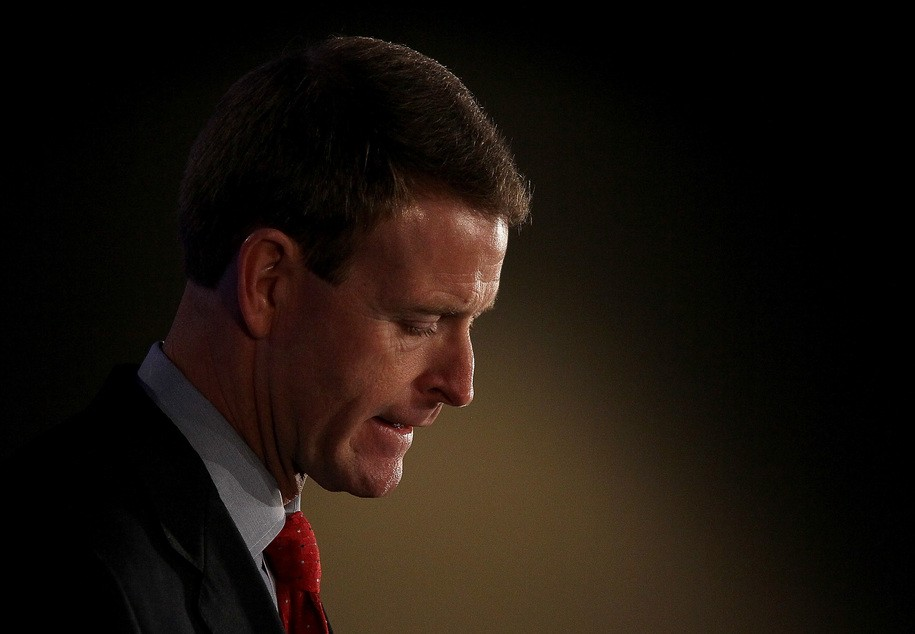 NEW ORLEANS, LA - JUNE 18:  Family Research Council president Tony Perkins speaks during the 2011 Republican Leadership Conference on June 18, 2011 in New Orleans, Louisiana. The 2011 Republican Leadership Conference features keynote addresses from most of the major republican candidates for president as well as numerous republican leaders from across the country.  (Photo by Justin Sullivan/Getty Images)