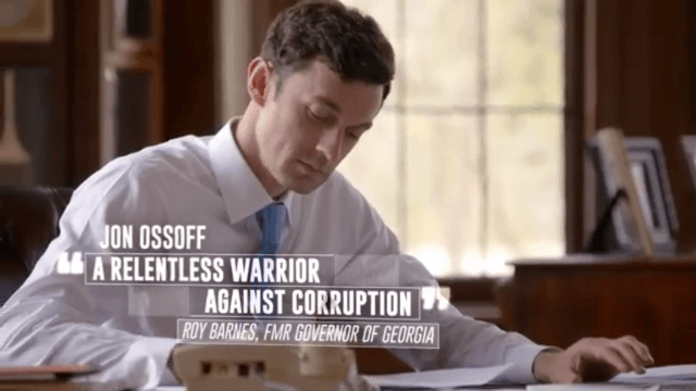 Democrat Jon Ossoff in his debut ad.