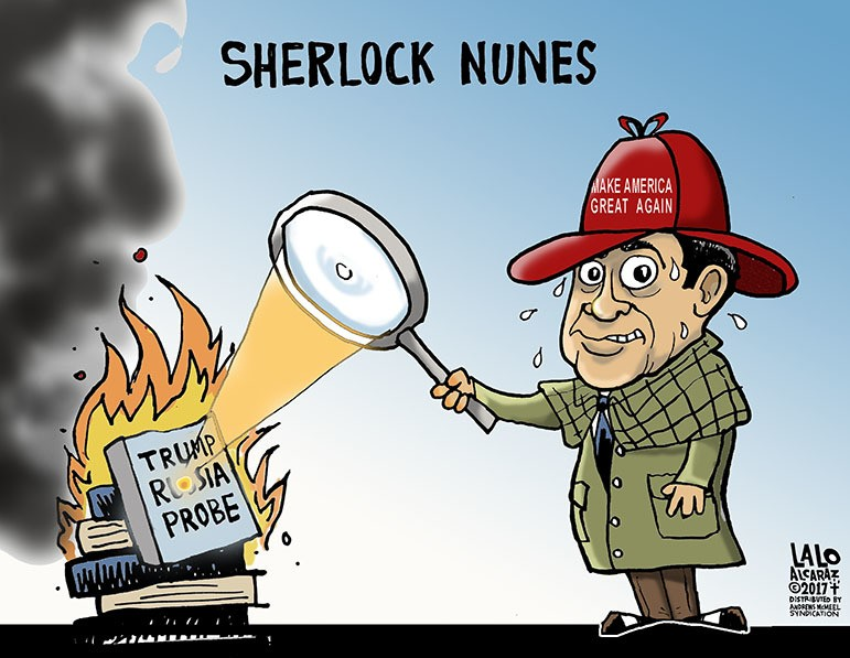 Image result for cartoons on rep nunes