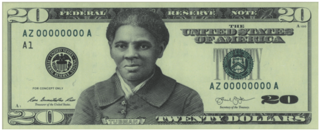 Tubman, $20 bill, $20, currency
