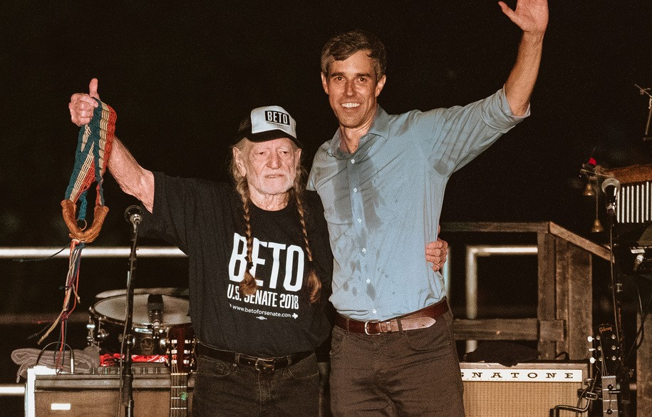 Willie Nelson Teams Up With Beto O'Rourke To Help TX Dems Fight Back Against GOP Voter Suppression