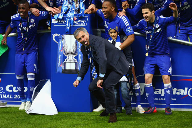 Image result for Mourinho: I don't care what sort of welcome Chelsea give me