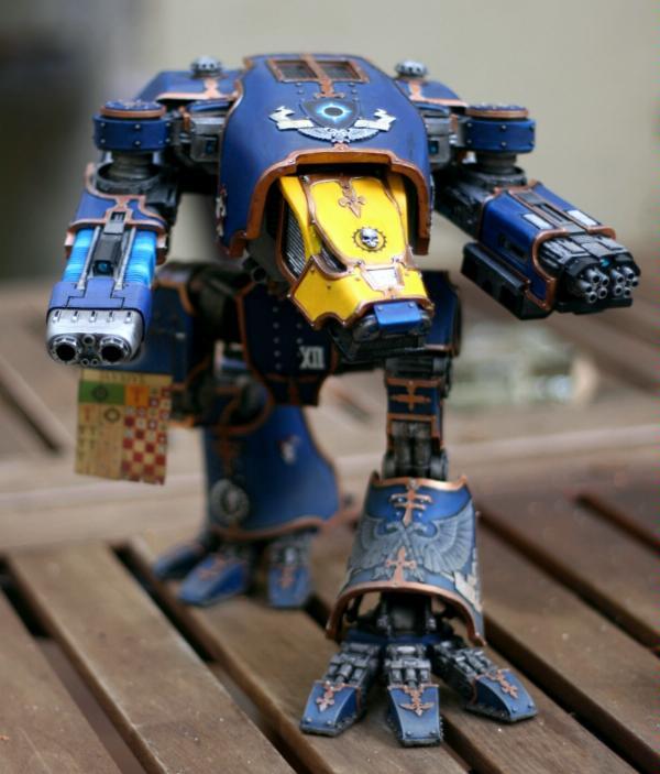 Imperium, Space Marines, Titan, Warhammer 40,000, Warhound