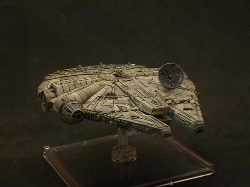 Millenium Falcon, Repaint, Star Wars, X-Wing
