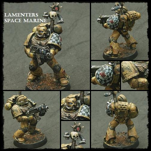 Astartes, Badab War, Lamenters, Space Marines, Warhammer 40,000, Weathered