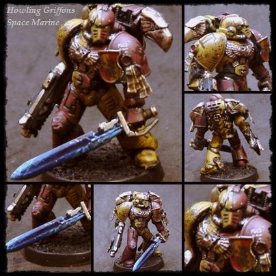 Astartes, Space Marines, Warhammer 40,000, Weathered