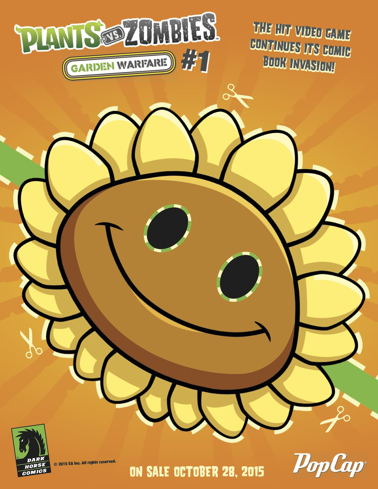 Free Printable Plants Vs Zombies Masks Just In Time For Halloween Blog Dark Horse Comics