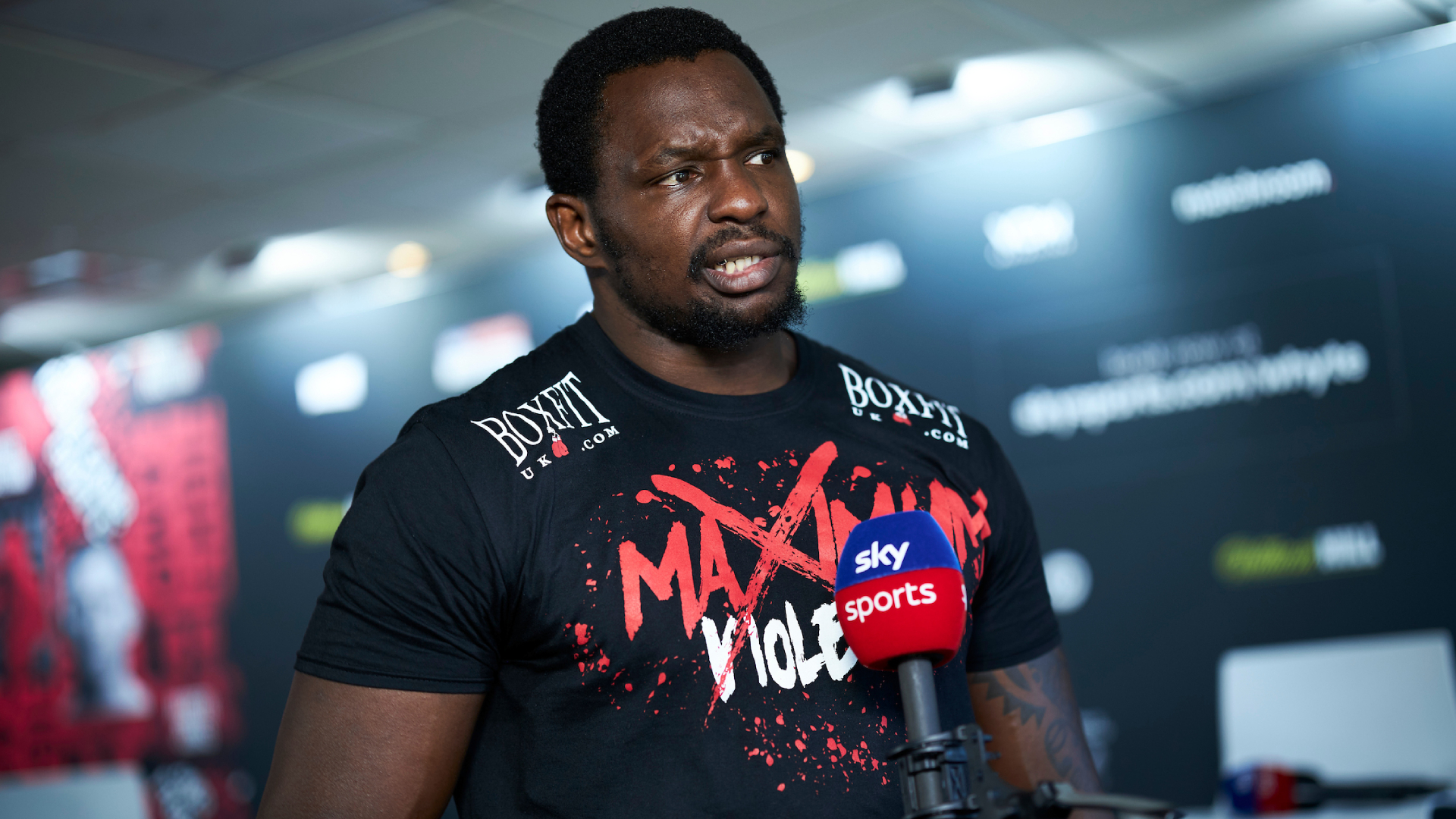 Dillian Whyte on Deontay Wilder: It's not a draw, it has nothing