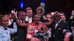 Claressa Shields vs Marie-Eve Dicaire: Live updates, results, highlights and round of the historic fight to unite women's boxing