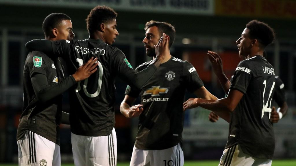 Half Time: Manchester United 1-4 Tottenham Hotspur