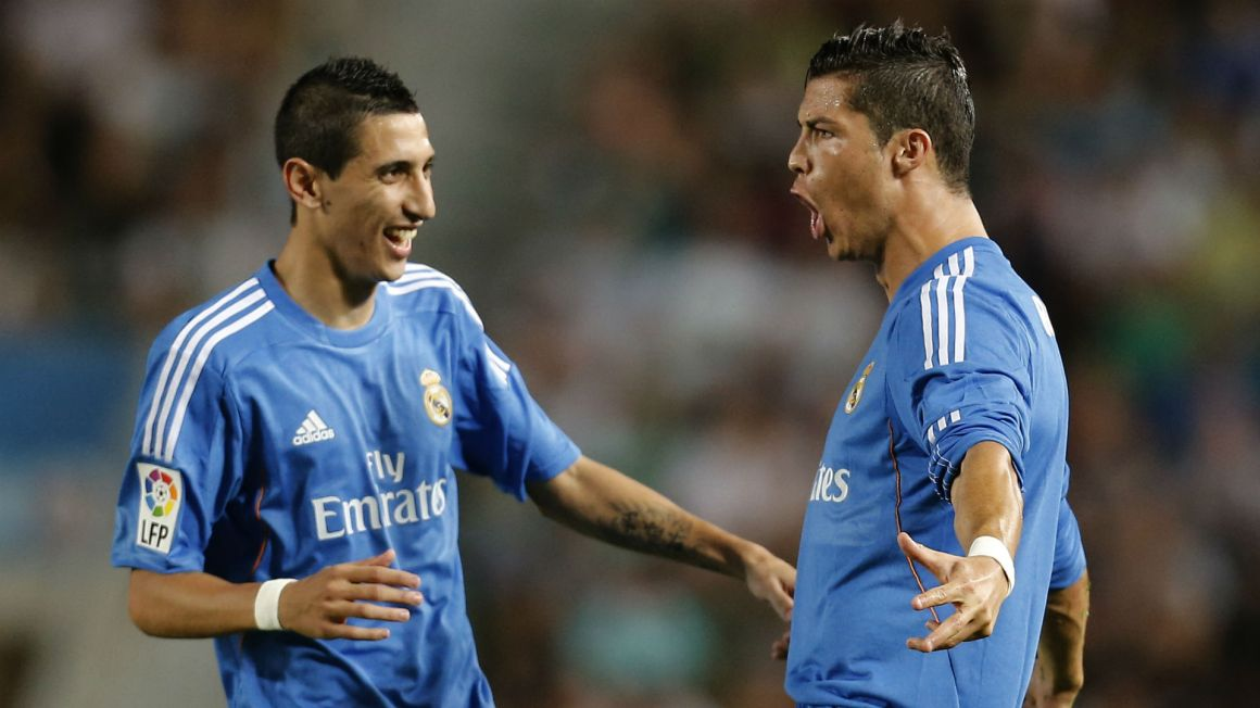 I don't understand how people can question Cristiano' - Ronaldo jeers  baffle Di Maria | Goal.com