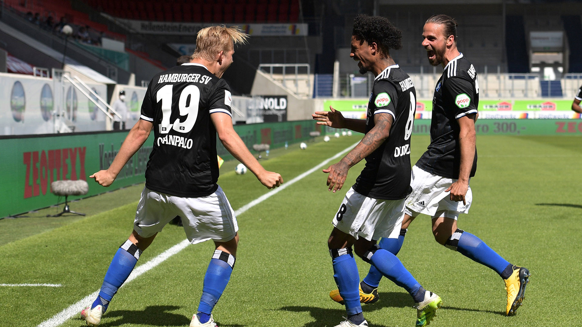 hsv hamburger sv vs sv sandhausen