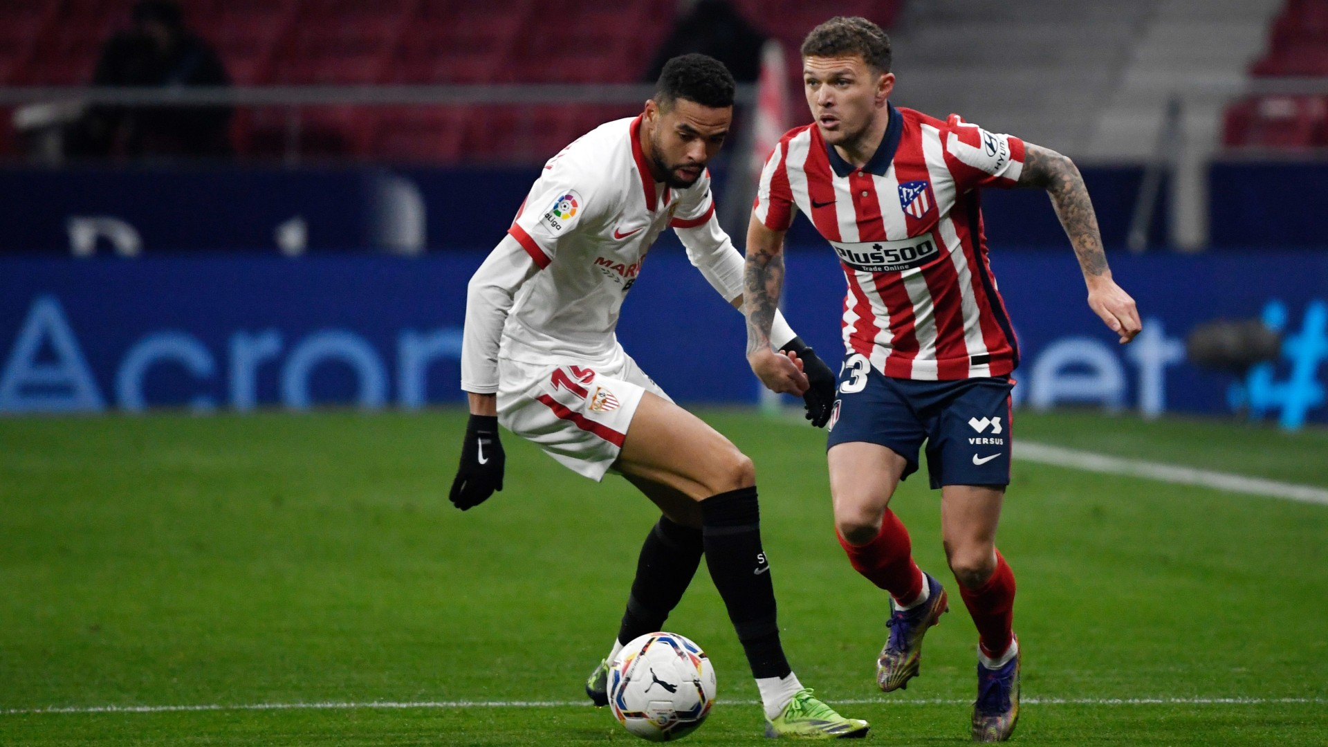 Trippier starts for Atletico Madrid for first time since betting ban suspended by FIFA