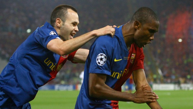 Eto'o names best player he's played with...and it's not Messi | Goal.com