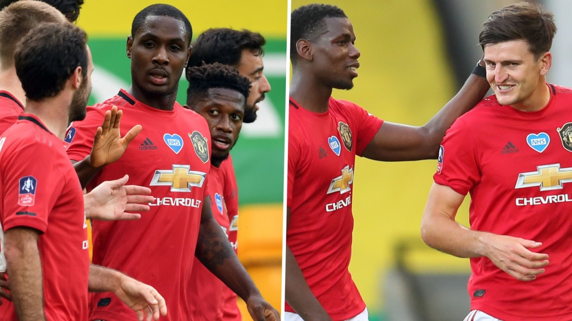 Unlikely Man Utd heroes Ighalo and Maguire come to rescue of ...