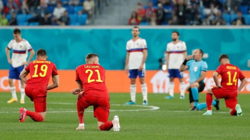 Por qué no se arrodillan algunas selecciones contra el racismo en la  Eurocopa 2021? | Goal.com