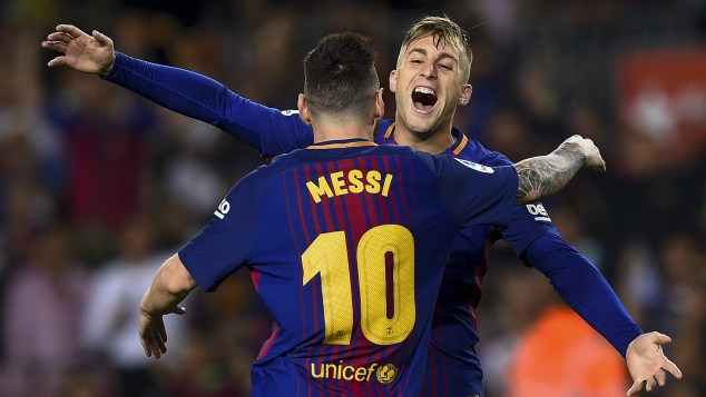 Hard to be billed as the next Messi at Barcelona' – Deulofeu reflects on life behind legends at Camp Nou   Goal.com