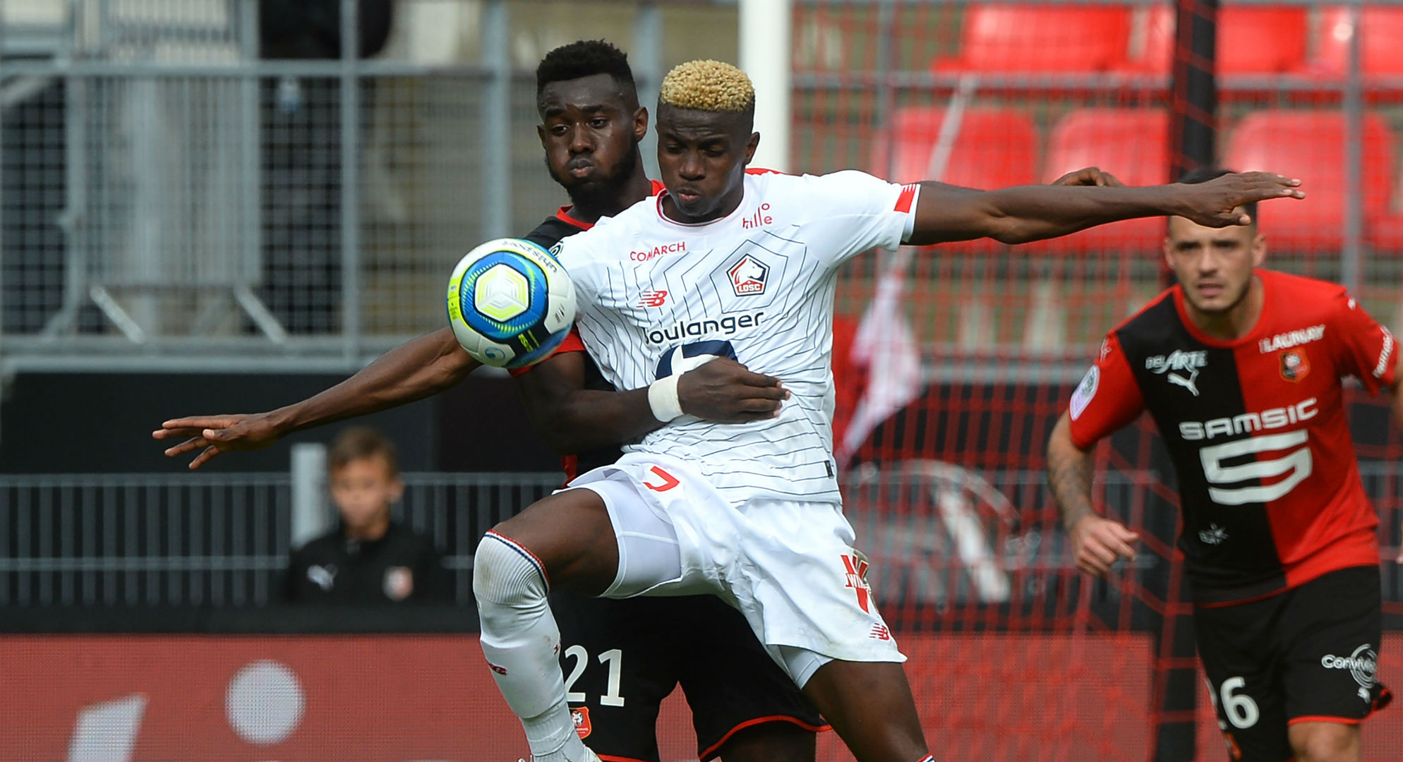 Osimhen, Aribo Earn Assists As Lille Draw At Rennes, Rangers Win At St. Johnstone