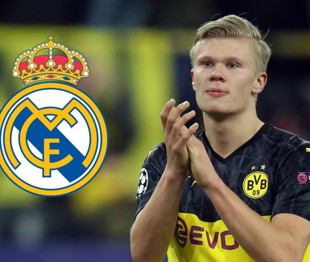 Transfer News And Rumours Live Real Madrid Make Haaland Top