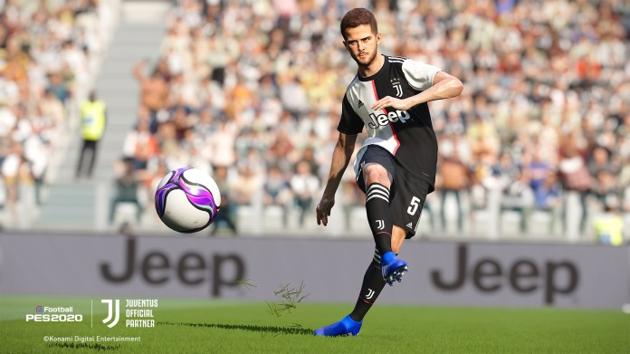 PES 2020 Pjanic in game