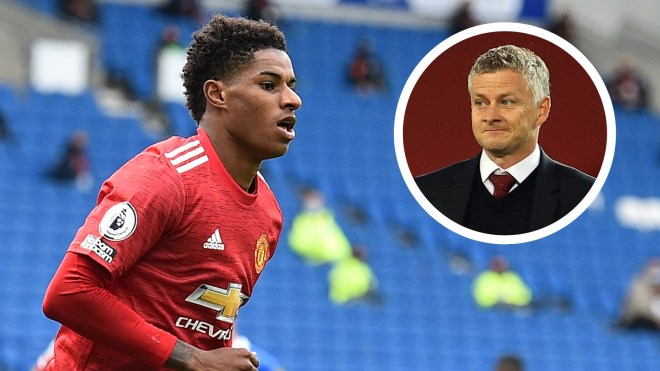 Rashford has the talent and personality to become Man Utd legend – Solskjaer