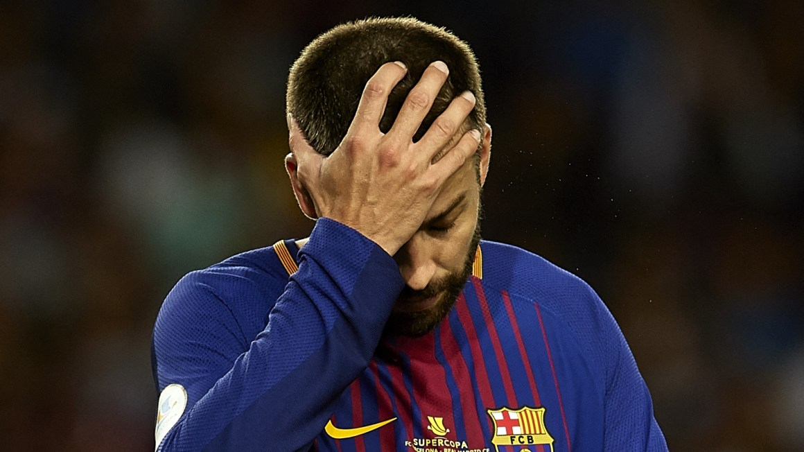 Ronaldo deserves lengthy ban for pushing referee as Barca flop ...