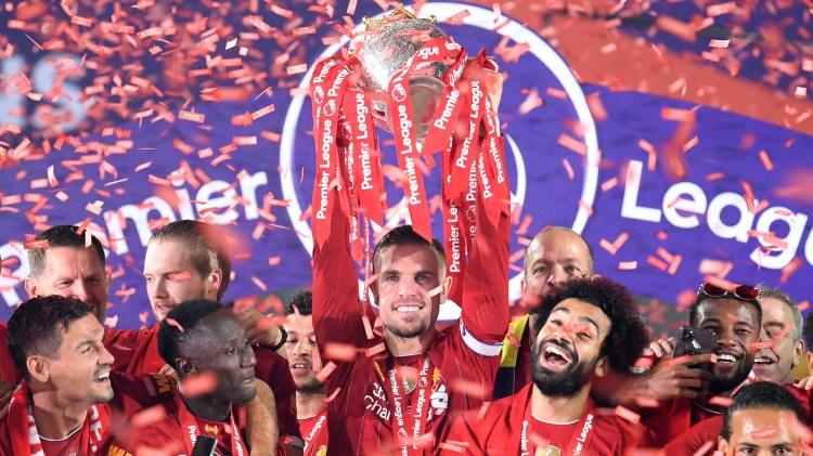 How Salah, Mane and Keita celebrated Liverpool's Premier ...