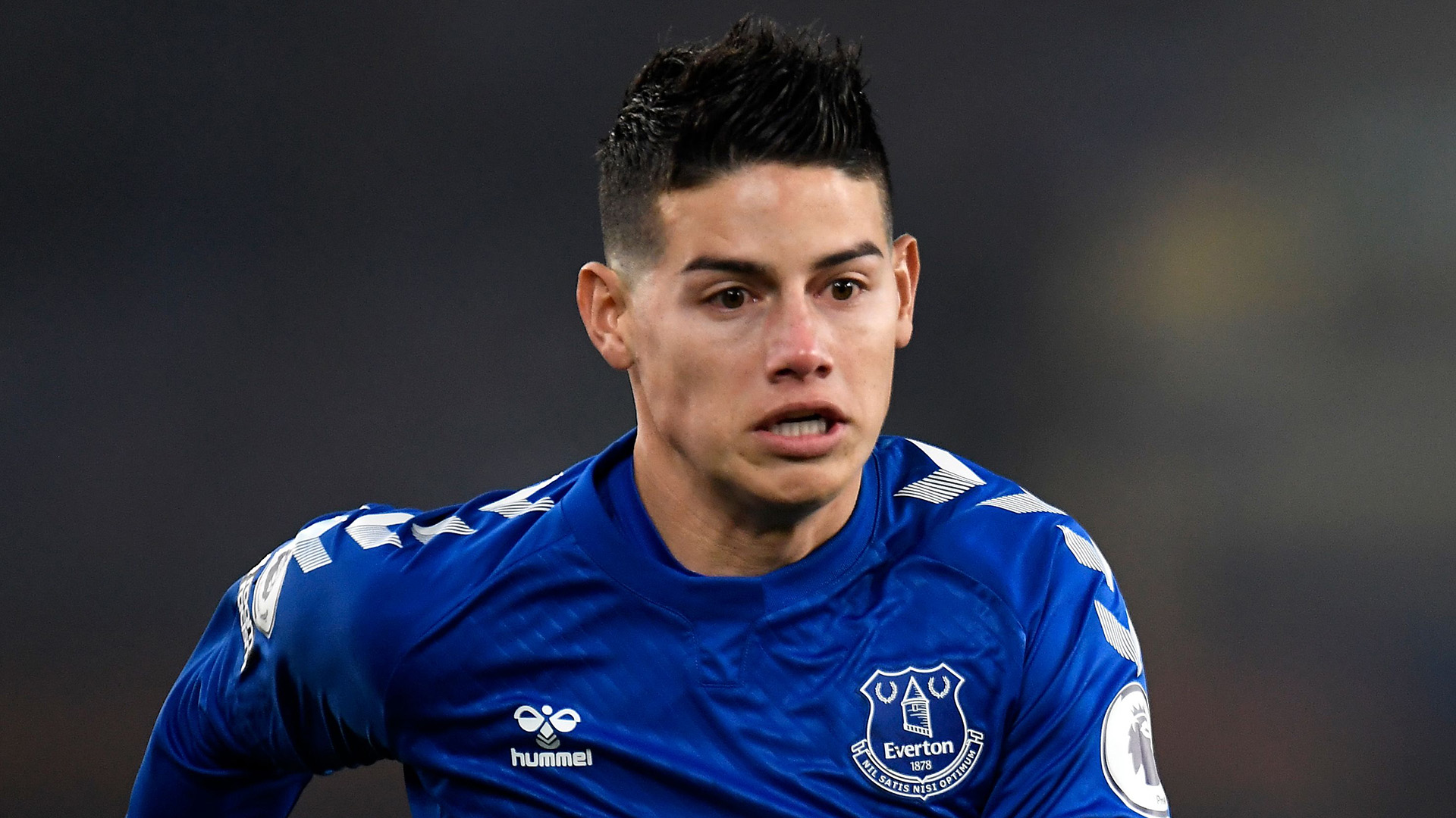 James Rodriguez ruled out of Everton's Chelsea showdown