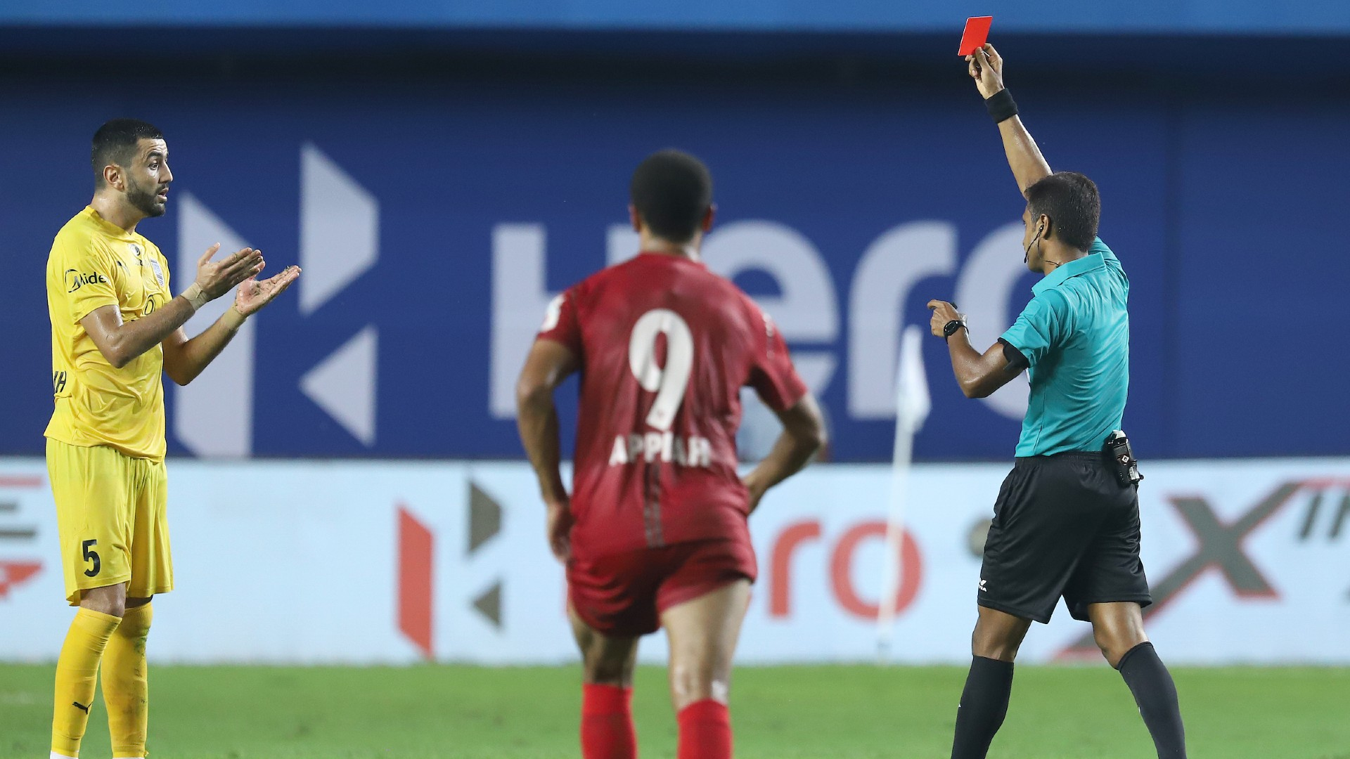 ISL: Ahmed Jahouh and the players who got sent off on their debut