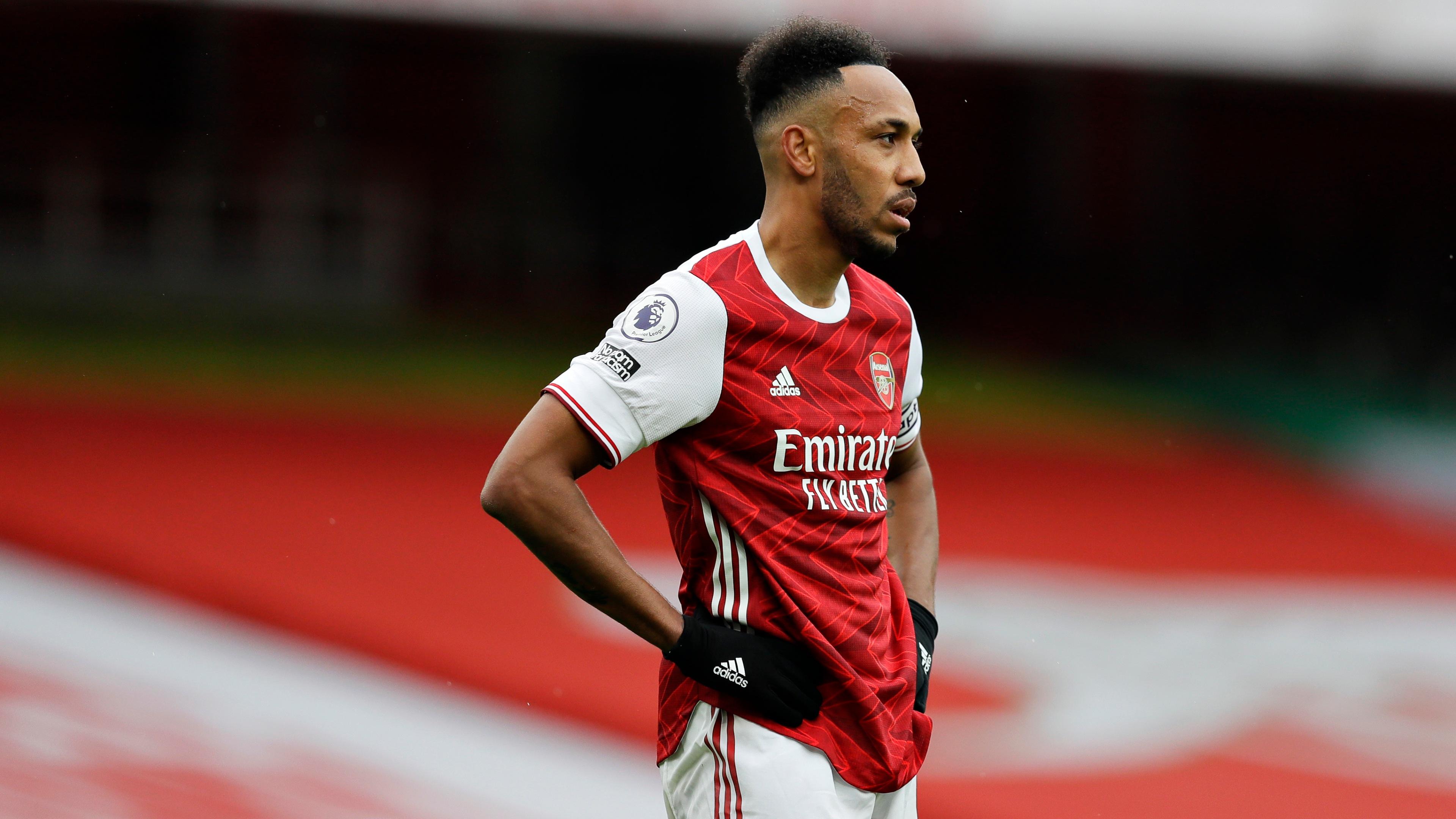 Aubameyang's lack of goals for Arsenal is Arteta's 'biggest concern'