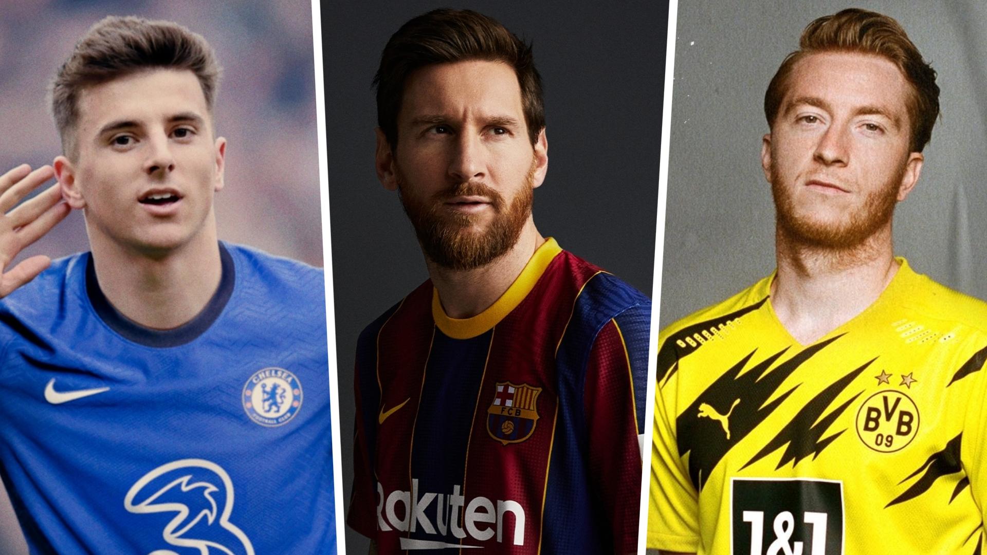 new 2020 21 football kits barcelona