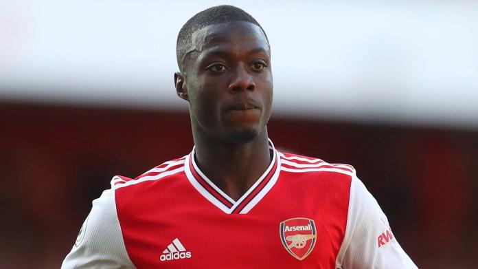 Nicolas Pepe Arsenal 2019
