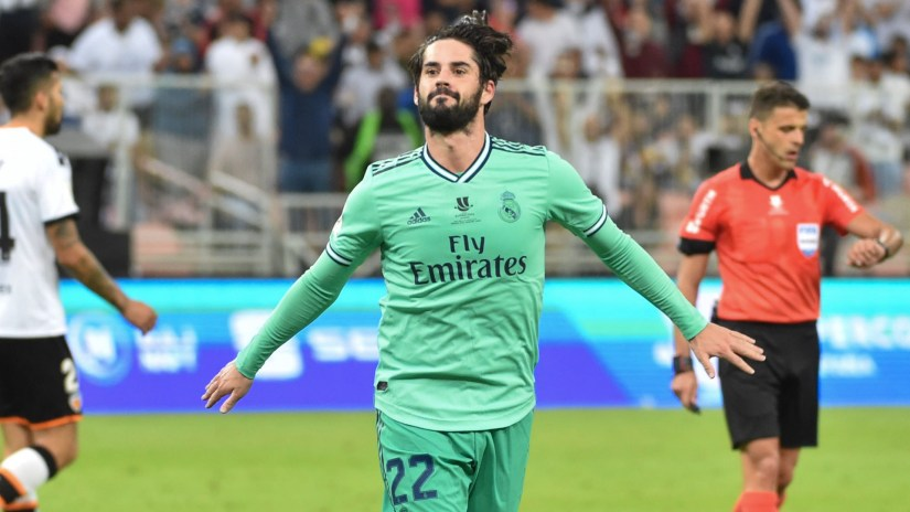 'I had no role' - Zidane credits dominant Isco for his Real Madrid resurgence 1
