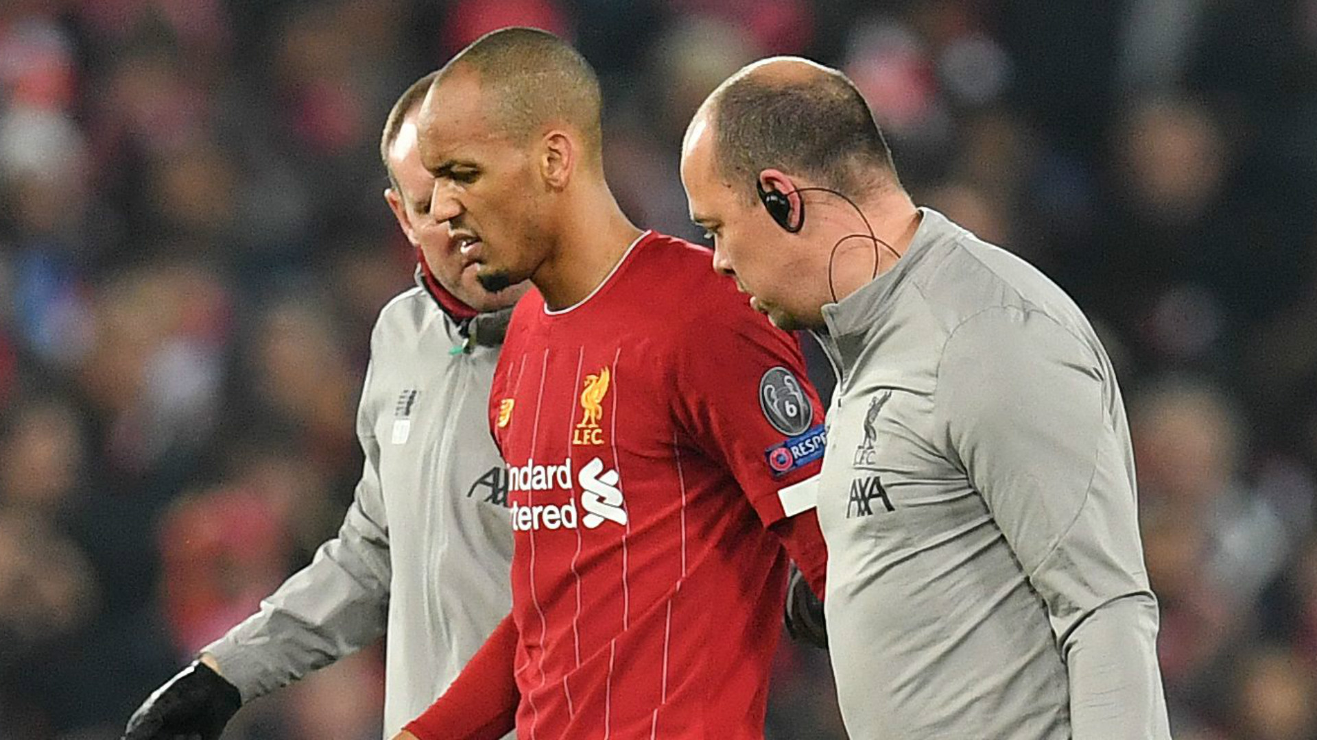 Fabinho's Ankle Injury To Rule Him Out Until January – Liverpool