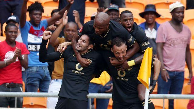 Leonardo Castro Samir Nurkovic and Willard Katsande - Kaizer Chiefs January 12