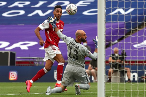 Miracle worker' - Chelsea slayer Aubameyang earns praise after ...