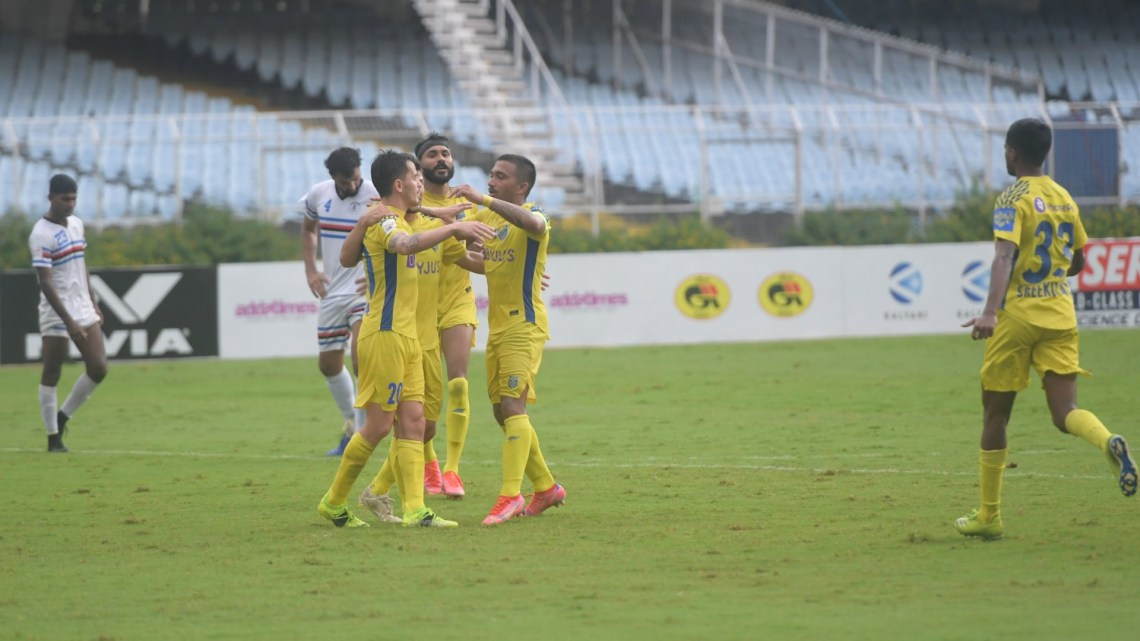 Kerala Blasters Indian Navy Durand Cup 2021