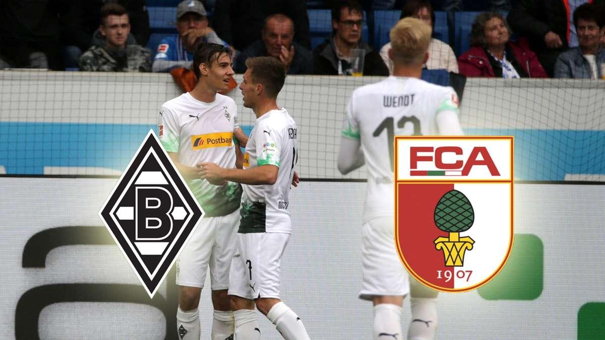 gladbach vs fc augsburg heute live