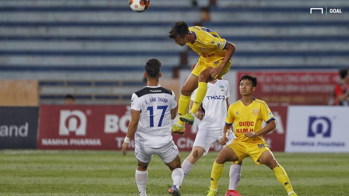 HIGHLIGHTS Nam Định 2-0 HAGL: Ngày trở lại trọn vẹn trên sân Thiên ...