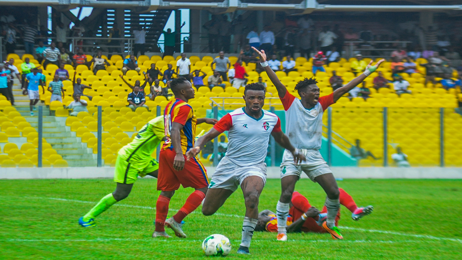 Coronavirus strikes: Ghana Premier League opener between Hearts of Oak and Aduana Stars postponed