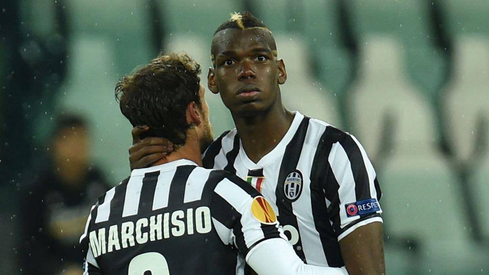 Paul Pogba Claudio Marchisio Juventus
