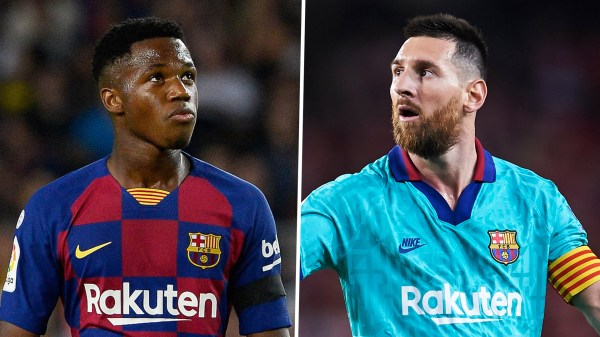 Barcelona news: Lionel Messi reveals he was wowed by Barcelona teen sensation Fati in first training session | Goal.com