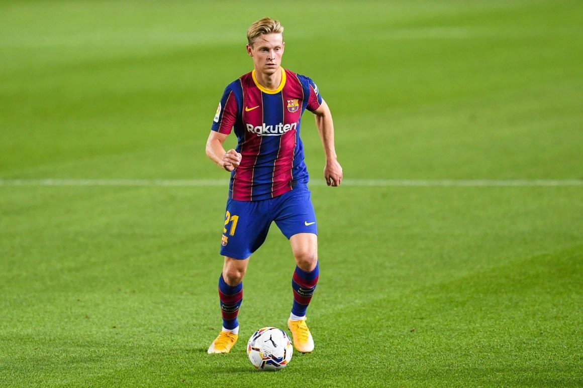Tin Barcelona) De Jong muốn được giải thoát khỏi vị trí trung vệ | Goal.com
