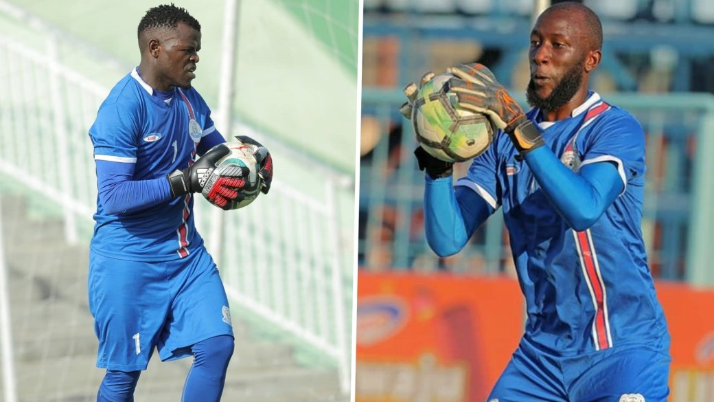 azam fc keepers mathias kigonya and david mapigano i309sswnj0k910dyv2fhwhny7